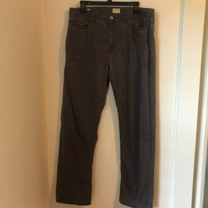 Gray Cotton Dockers Straight Fit Size 36 x 34